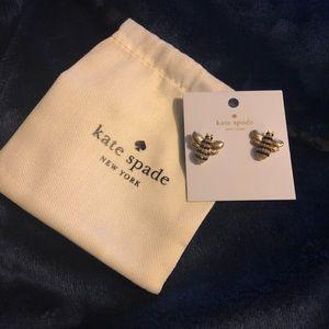 Kate spade bee 🐝 earring! NWT
